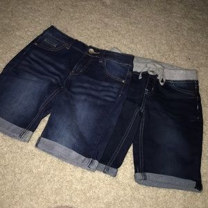 Justice for Girls Jean shorts
